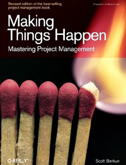 Making Things Happen Mastering Project Management book