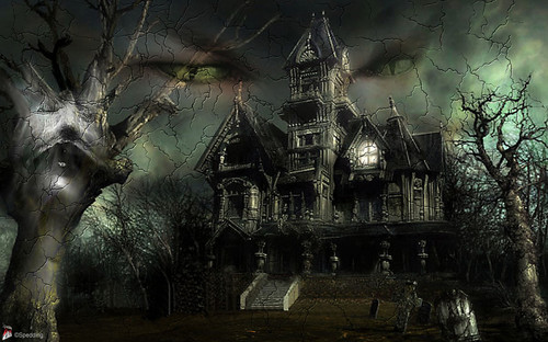gothic halloween wallpaper