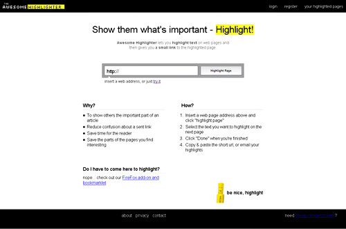 annotation tool Awesome Highlighter