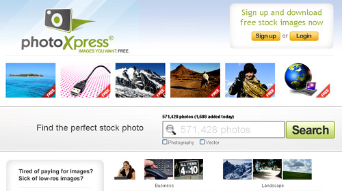 free stock photography photoxpress