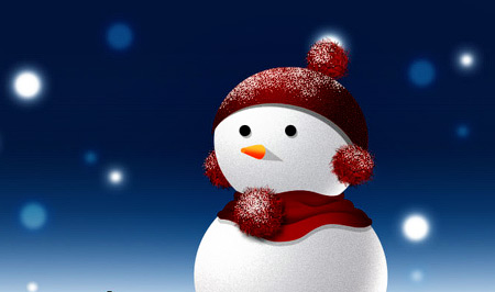 snowman photoshop tutorial