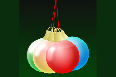xmas ornament photoshop tutorial