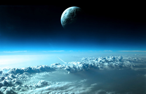 Clouds Space Wallpaper 1280×1024. Space Wallpaper