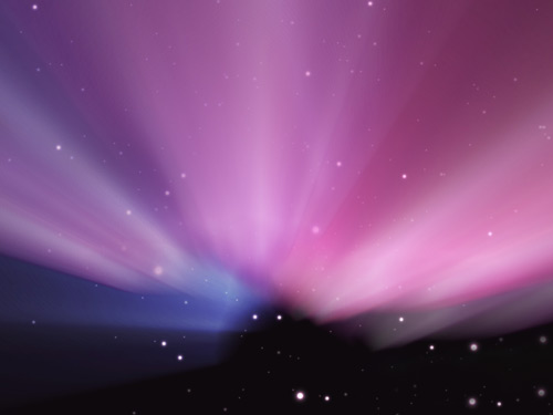 Aurora Borealis Gimp tutorial