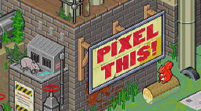 Hand crafted Pixel Art