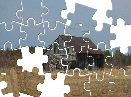Jigsaw Puzzle Effect gimp tutorial