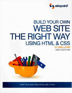 build website css book