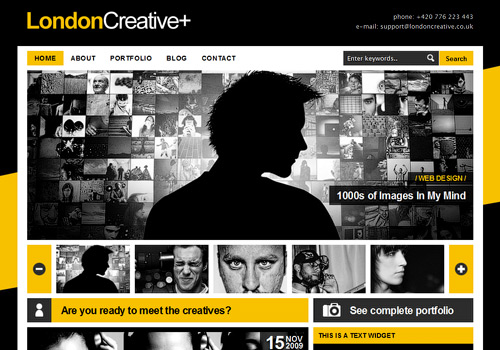 London Creative WordPress Theme