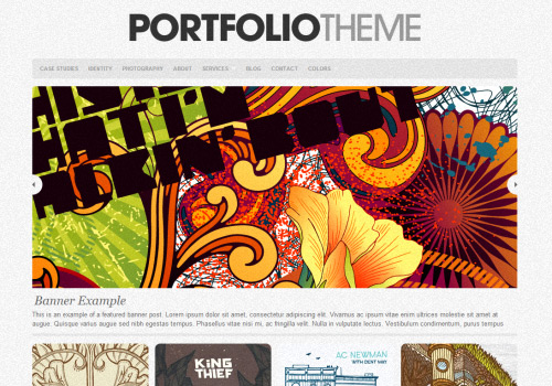 The Portfolio WordPress Theme