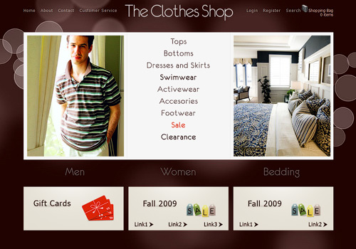 The Clothes Shop WordPress Theme