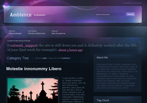 Ambience WordPress Theme