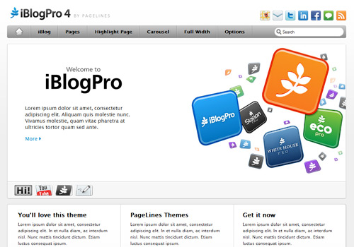 iBlogPro WordPress Theme