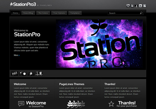 StationPro WordPress Theme