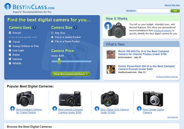 Best in Class Cameras