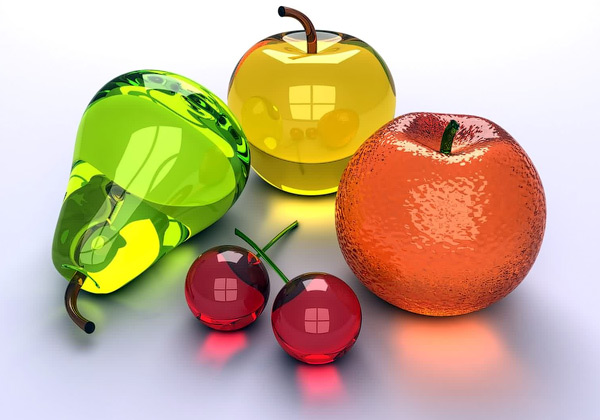 3D Fruits Wallpaper