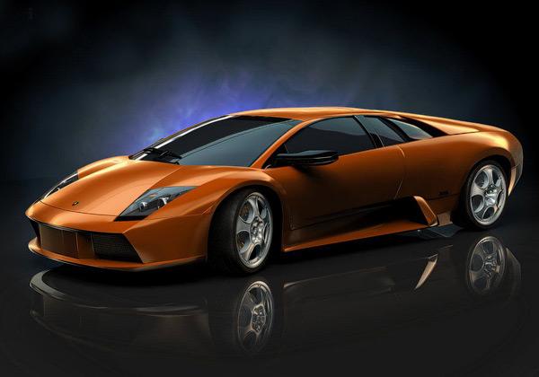Lamborghini Murcielago 3D Wallpaper