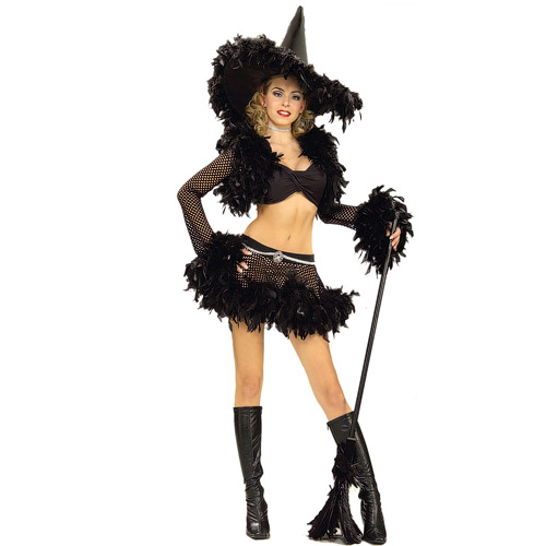 Sultry Witch Halloween Costume