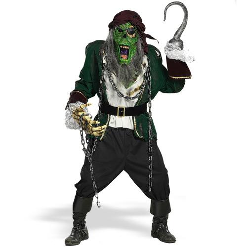 Zombie Pirate Halloween Costume