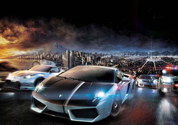Need For Speed World 3D Wallpaper