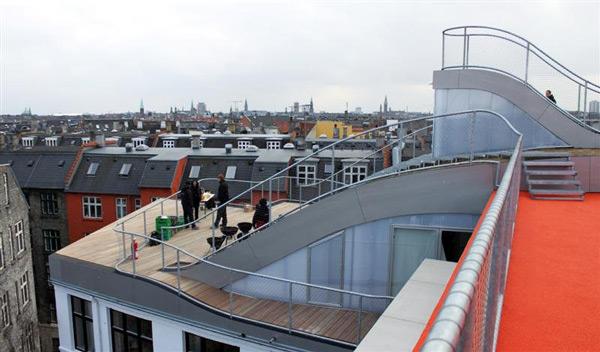 birkegade rooftop penthouse
