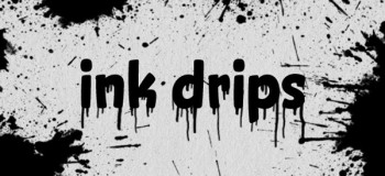 Ink Drips Photoshop brush