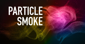 Particle smoke Photoshop brush