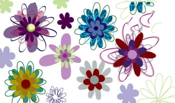 flowers Photoshop brush