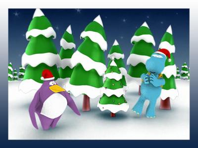 Christmas card Hallmark
