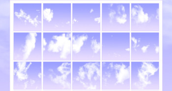 clouds Photoshop brush