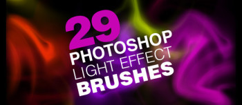light effect Photoshop brush
