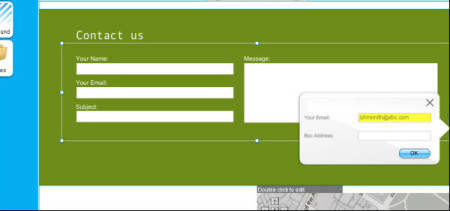 contact form wix
