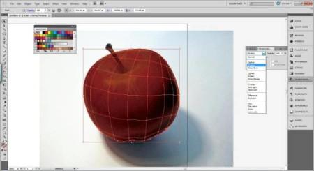 AI Gradient Mesh Tutorial Apple Step 15