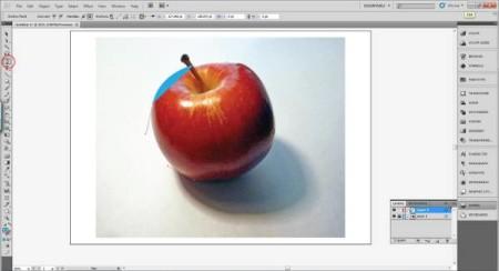 AI Gradient Mesh Tutorial Apple Step 4