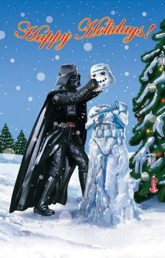 star wars christmas card - Star Wars Christmas Card