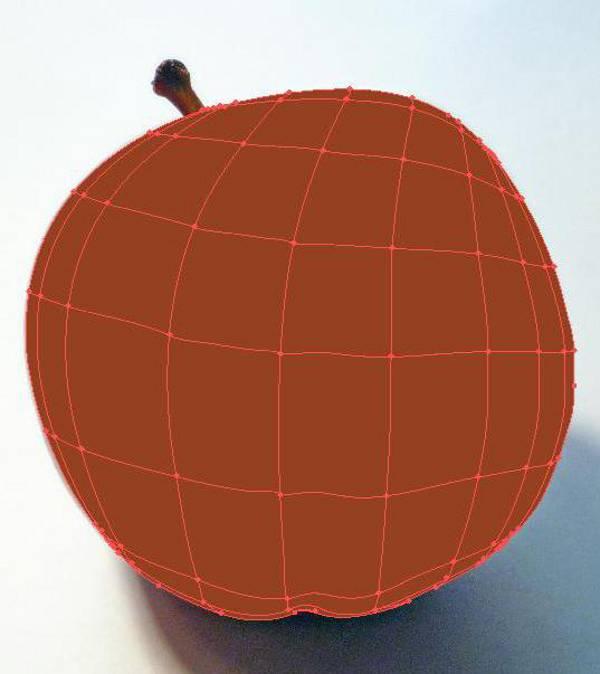 AI Gradient Mesh Tutorial Apple Step 14