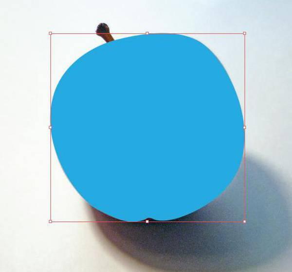 AI Gradient Mesh Tutorial Apple Step 5